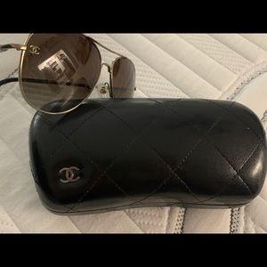 Beautiful Chanel sunglasses very lightly used